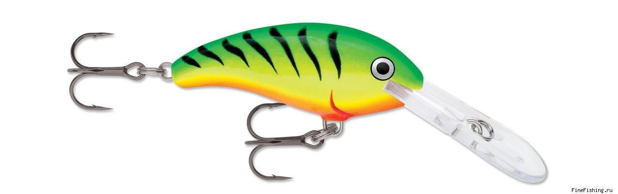 Воблер Rapala SHAD DANCER 05 цвет FT