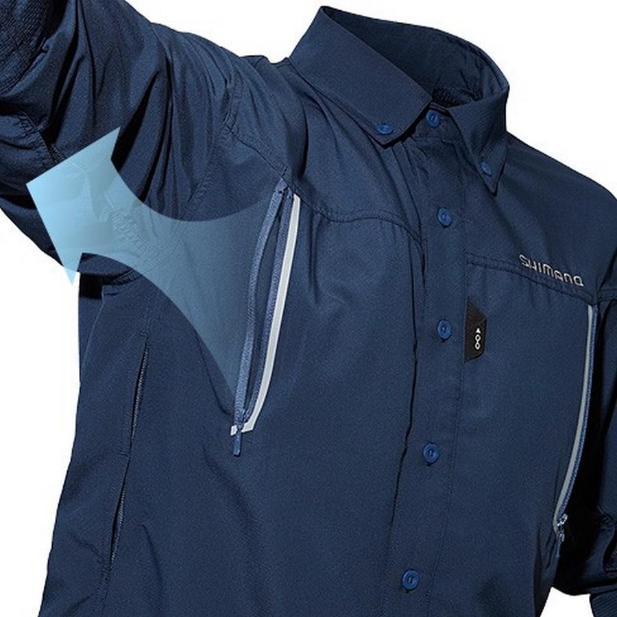 Shimano airventi fishing shirts sh 099n for Shimano fishing shirts