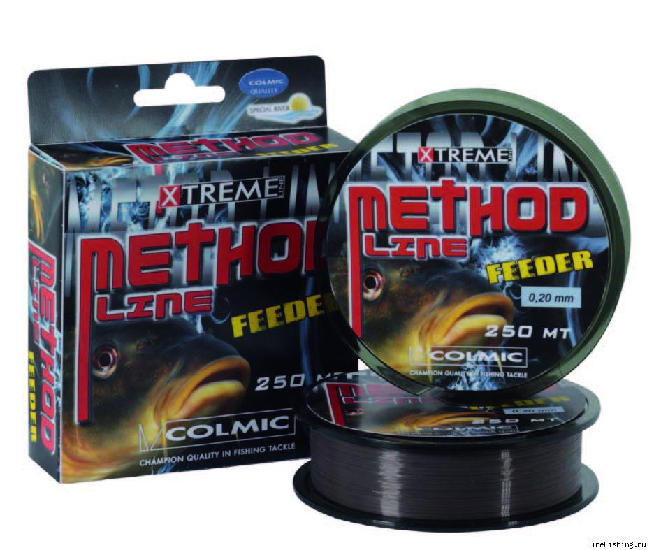 Леска COLMIC METHOD FEEDER mt. 250 - 0.25 - 7,20кг