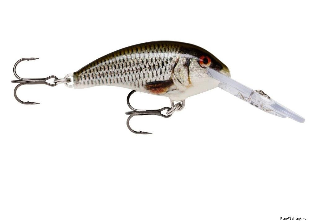 Воблер Rapala SHAD DANCER 04 цвет ROL