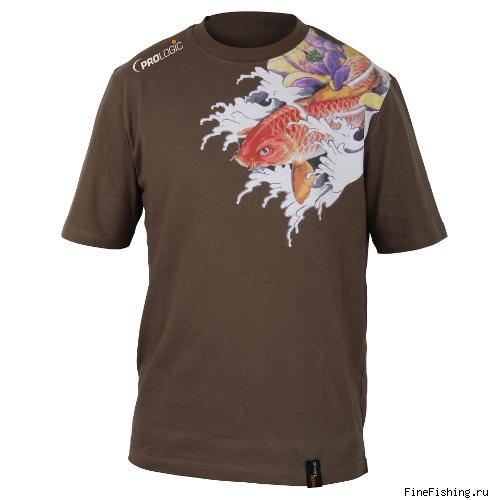 Футболка PROLOGIC  Koi Carp Tattoo Tee L New Green 46854