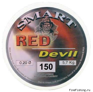 Леска Maver Smart Red Devil 150 м, 0.28 мм, 9.8кг