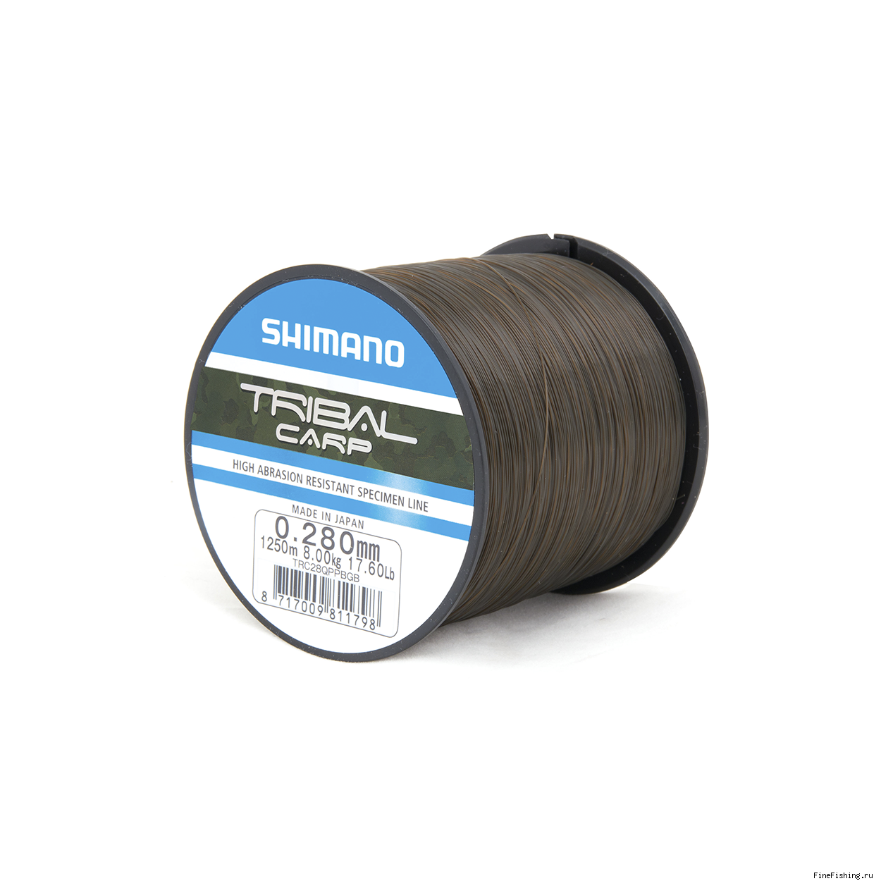 Леска Shimano Tribal Carp 1250m 0,28mm QP