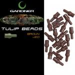 Отбойник GARDNER COVERT TULIP BEADS BROWN (20шт) CTBB