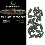 Отбойник GARDNER COVERT TULIP BEADS GREEN (20шт) CTBG