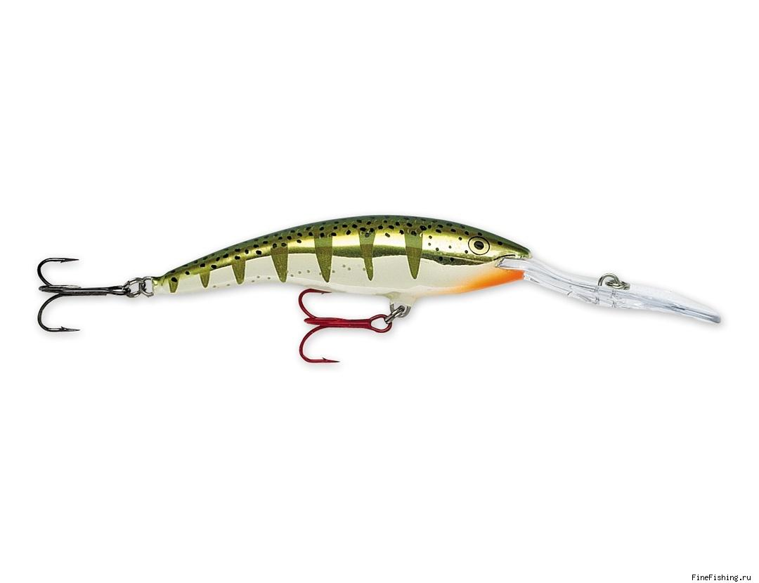 Воблер Rapala Tail Dancer Deep 13 цвет FYP